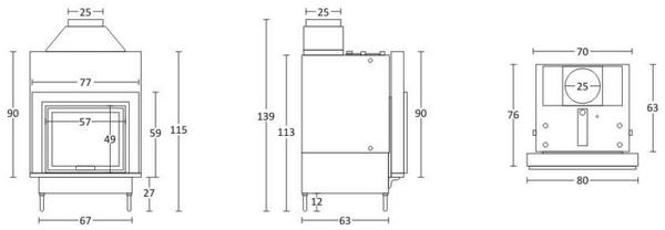 Misure impianto idraulico impiantib with misure impianto - Misure attacchi idraulici bagno ...